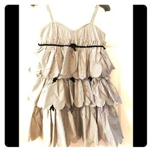 Marc by Marc Jacobs Sz 6 Tiered ruffle dress NWT
